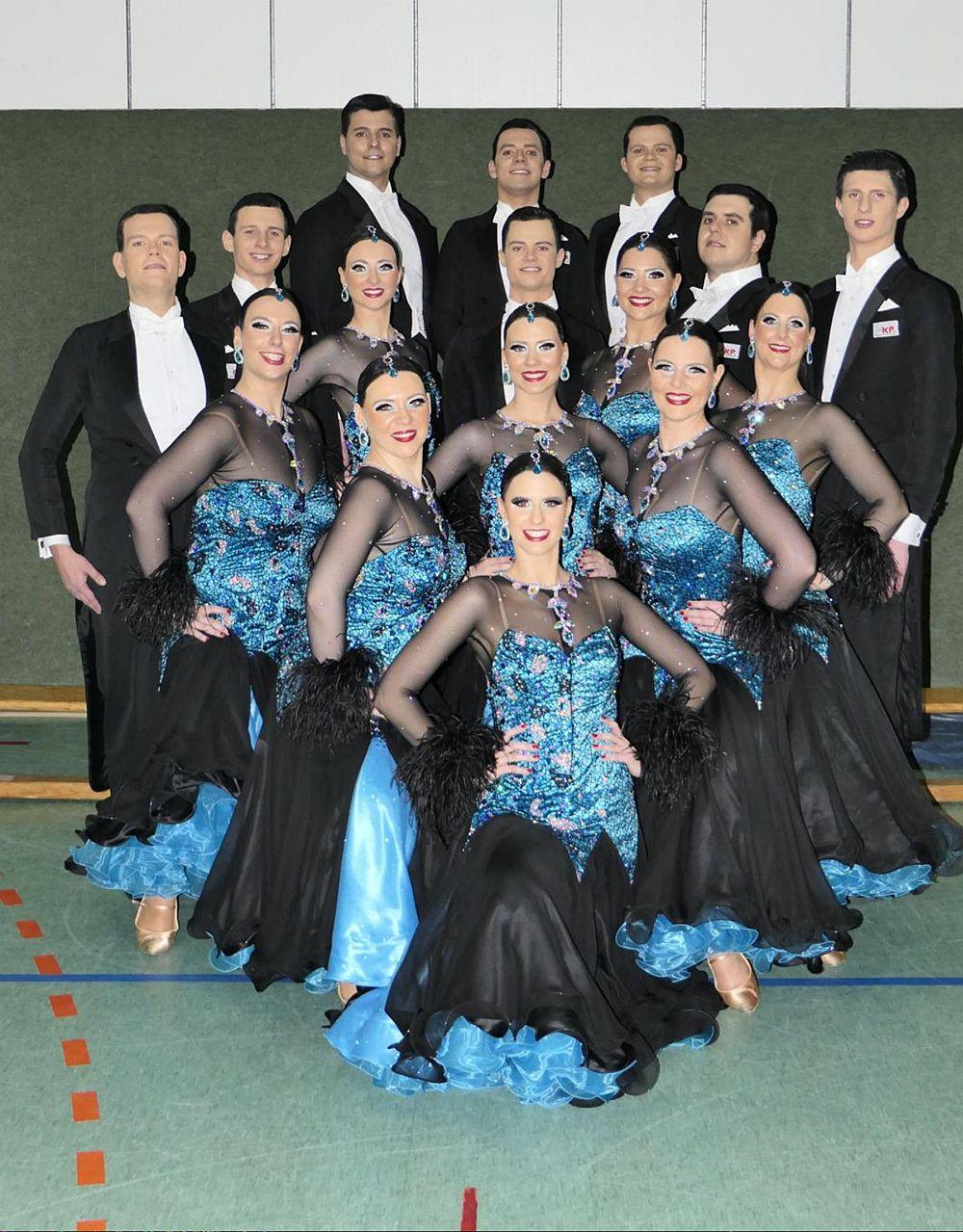 Tanzen im Team - Die Club Saltatio Standardformationen suchen dich!