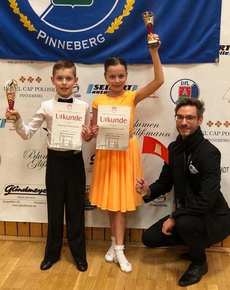 Dreimal Hamburger Meister und und einmal Vizemeister für SCALA Tanzpaare