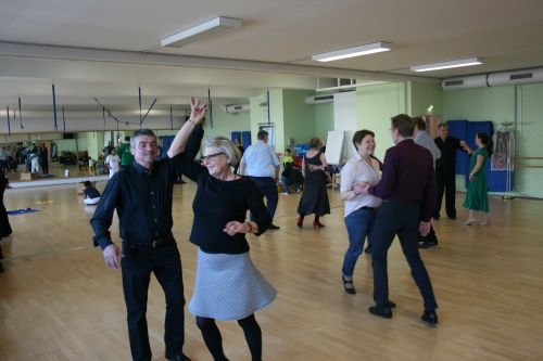 Aktionstag der Tanzsportabteilung in Bergedorf