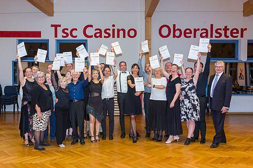 Erfolgreiche DTSA-Abnahmen beim Casino Oberalster