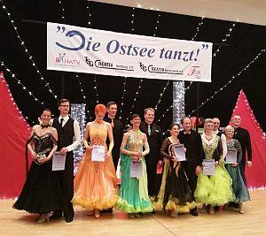 Ergebnisse Tag 1 Ostsee tanzt