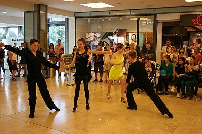 TSG Tanzsportabteilung präsentiert sich im City-Center Bergedorf